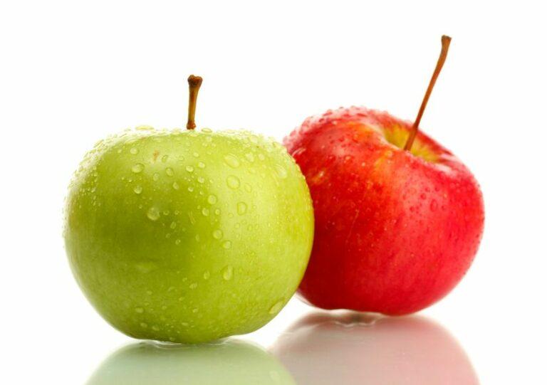 Solo frutta 2: Risultato di un pasto con solo 2 mele